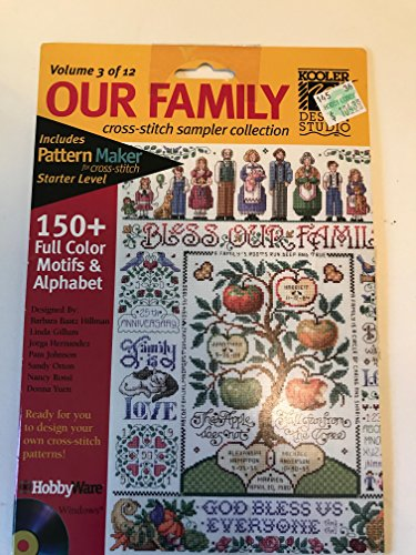 Our Family Cross-Stitch Sampler Collection - Volume 3 of 12