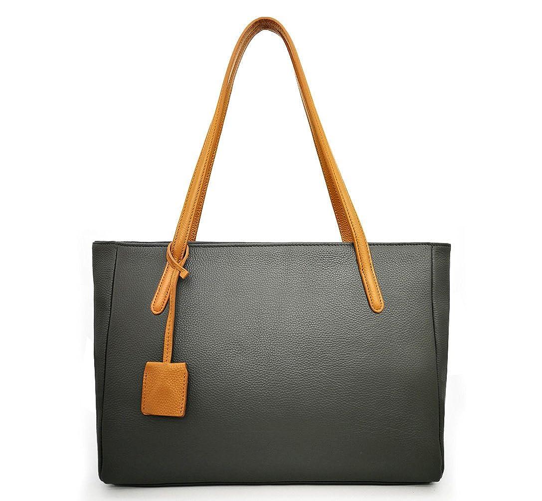 InterestPrint Marble Floor Womens Top Handle PU Leather Shoulder Satchel Bag