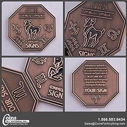 Zodiac Coin-Aries