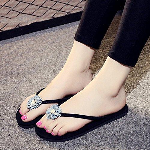 pour 40 Ans Femmes Les Chaussures Couleurs UK3 CN35 Femelles EU36 de pour Couleur HAIZHEN Sandales Femmes 5 Sortes Plates 1003 5 pour 1004 Taille 18 Ow6qxqFaZ