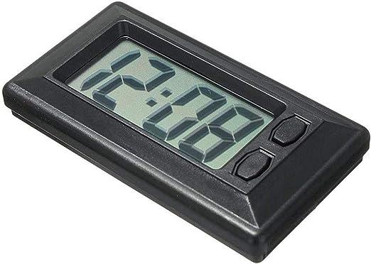 WARMWORD Mesa Digital LCD Reloj Tablero del Coche electrónico ...