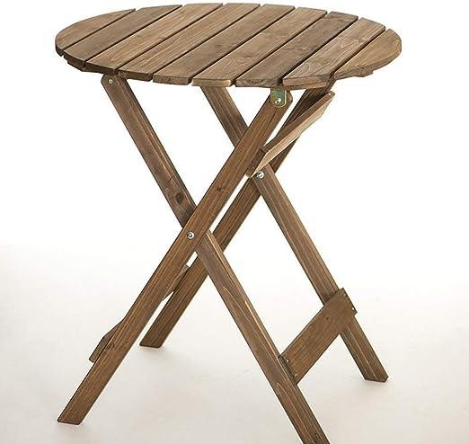Mesas de comedor Mesa Plegable pequeñas y Redondas Baja y sillas ...