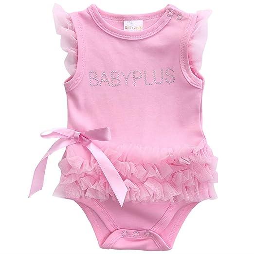 Amazon.com: Chitop Flower Baby Girls Clothing Newborn - Baby Girl ...