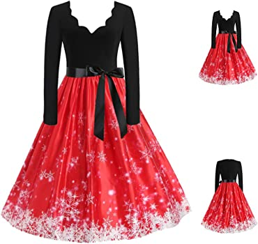 Zottom - Vestido de Noche para Mujer, diseño de Navidad C-Rouge ...
