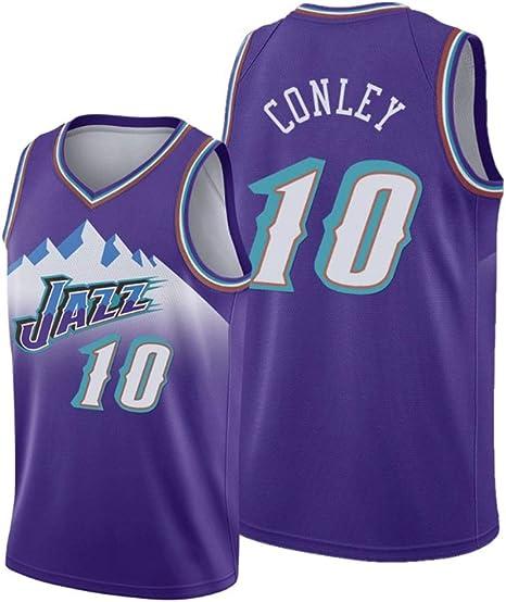 WSF Jersey Utah Jazz Team, Camisetas de Baloncesto de los Hombres ...