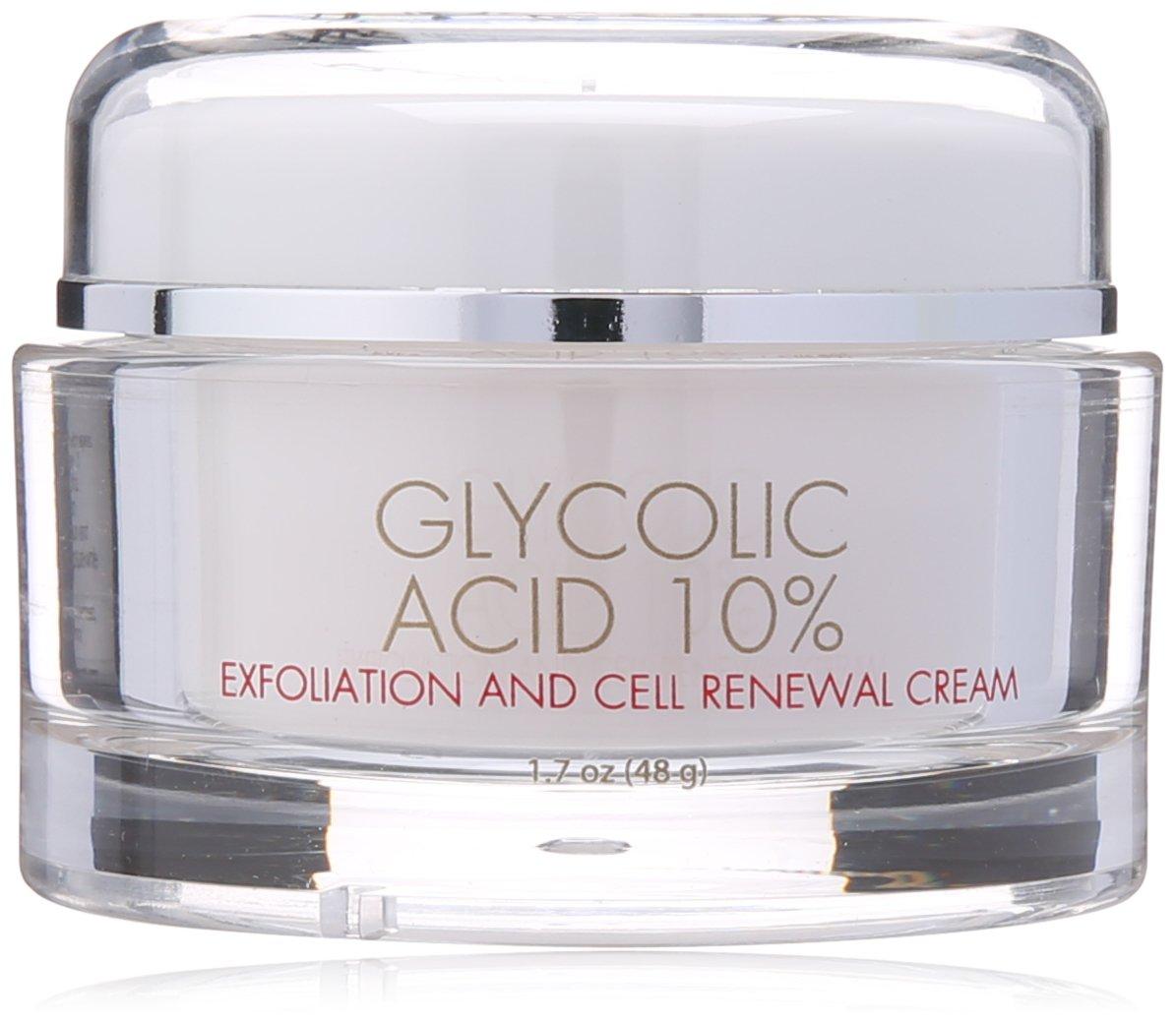 Life-Flo Body Cream, Glycolic Acid 10%, 1.7 Ounce