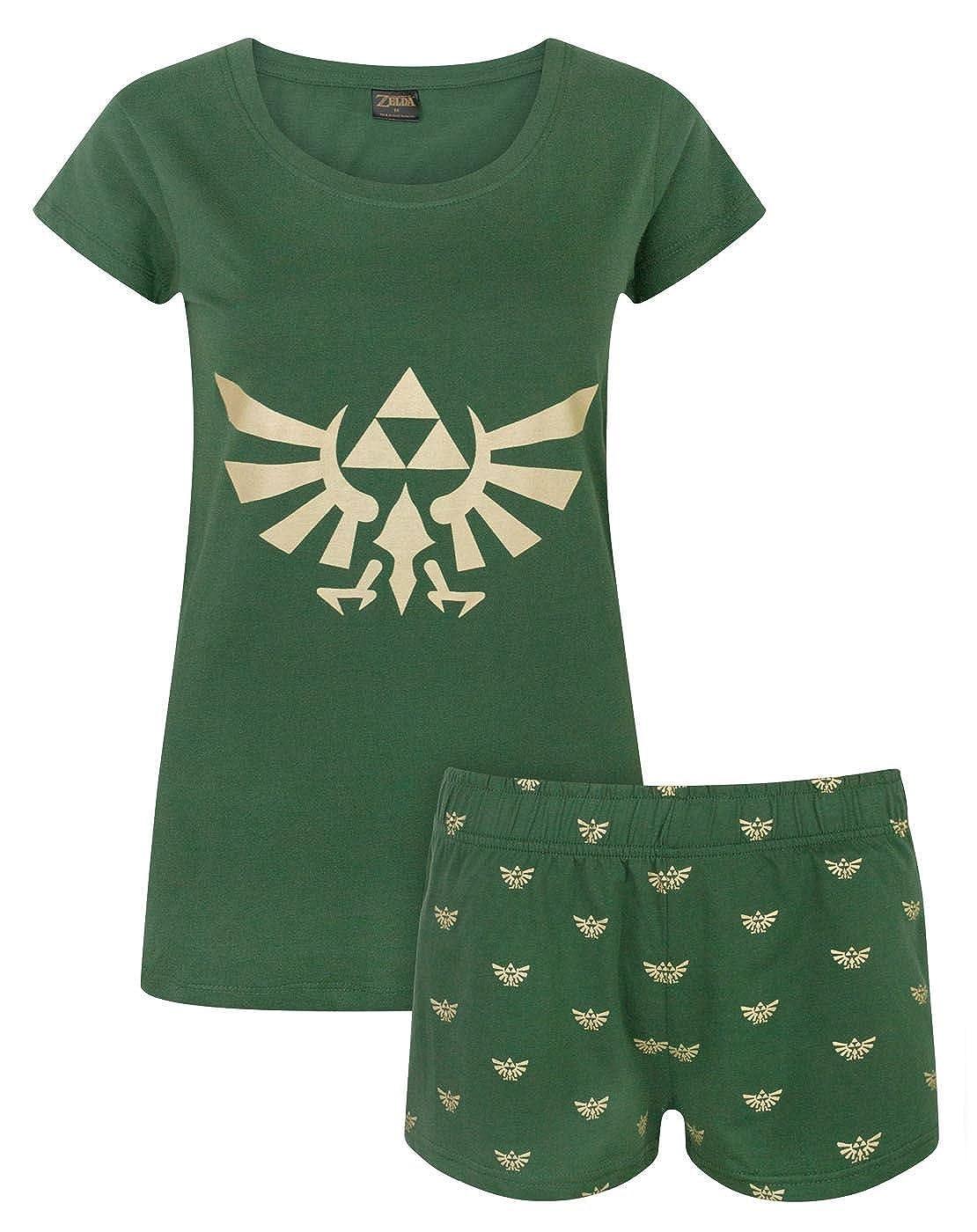 Zelda Hylian Crest Women's Pyjamas Bioworld