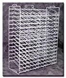 New Retail 30-SLOT PAPER RACK 27'' Wide x 33 1/2'' High x 10 1/2'' Deep