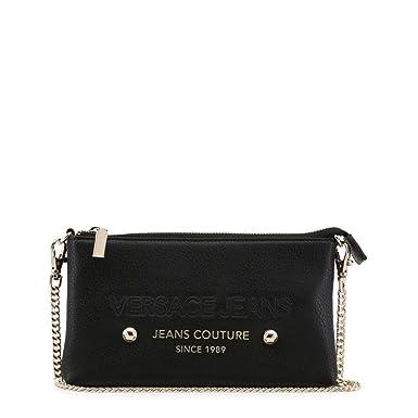 2094e4ce22 Amazon.com: Versace Jeans Women Black Clutch bags: Clothing