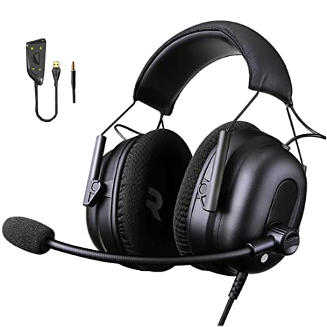 Amazon com: ZRN-Lucky Gaming Headset for PS4, PC, Xbox One