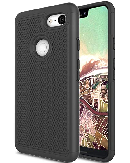innovative design 66d04 25843 Google Pixel 3 XL Case, Google Pixel XL 3 Case, Asmart Drop Protection Case  Google Pixel 3 XL Armor Defender Cover Dual Layer Protective Phone Case ...