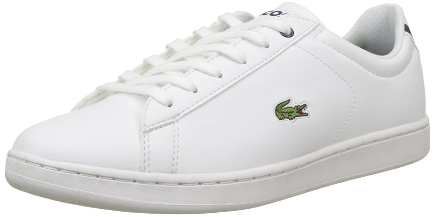 35b8c42ac Lacoste Unisex Kids' Carnaby Evo Bl 1 SPJ Wht/NVY Bass Trainers:  Amazon.co.uk: Shoes & Bags