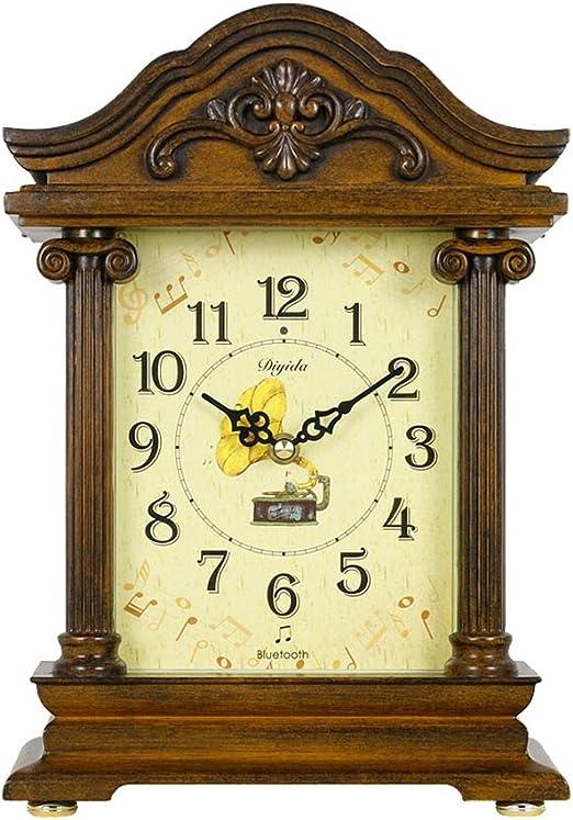 SESO UK- Reloj de Mesa Antiguo Americano de Mantla Reloj del ...
