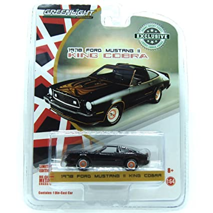 Amazon 1978 Ford Mustang Ii King Cobra Black And Gold Hobby