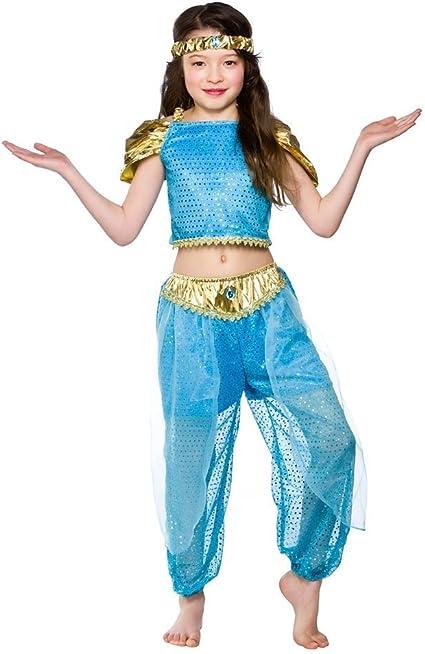 Disfraz de Arabia princesa de Halloween niñas talla Medio: Amazon ...