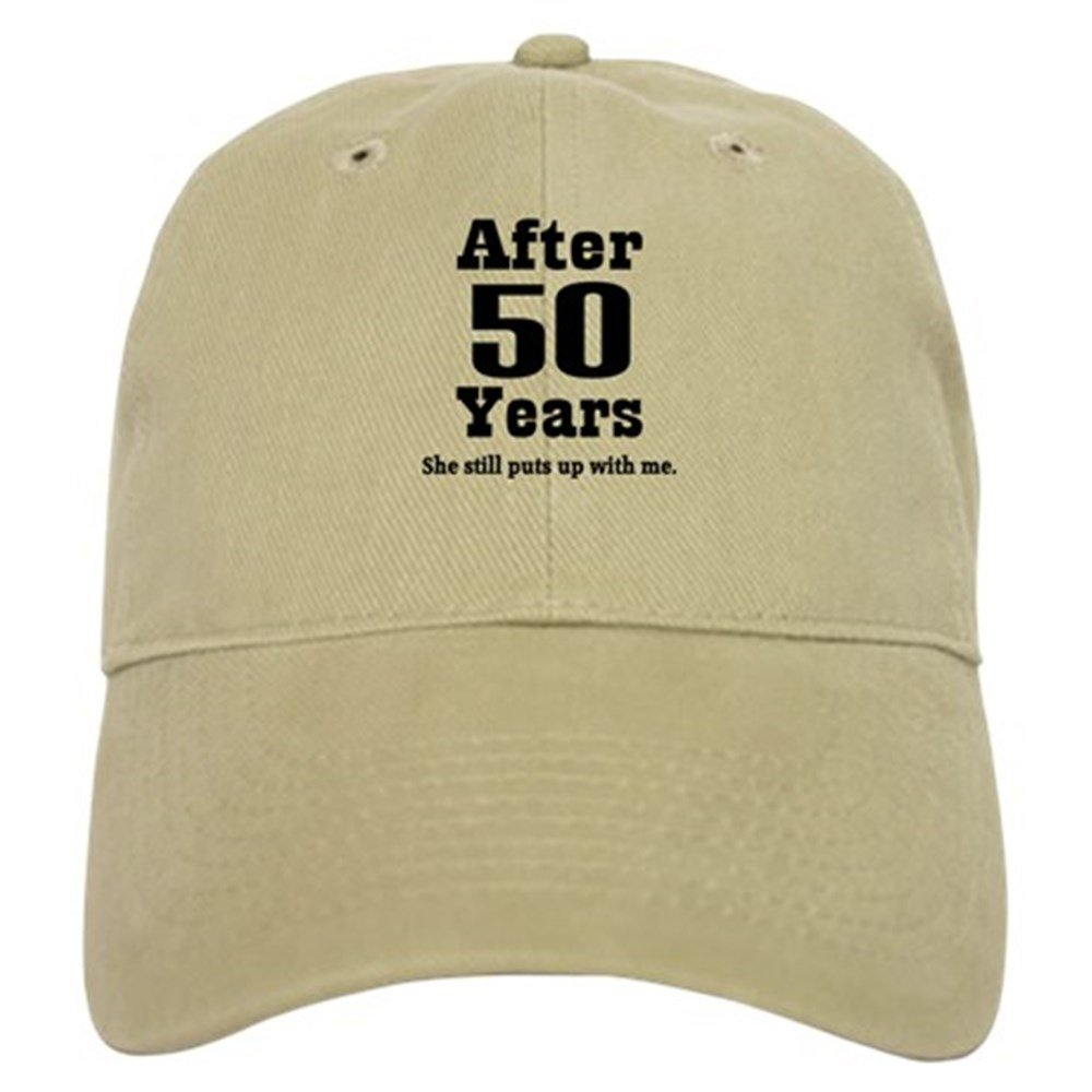Amazon Cafepress 50th Anniversary Funny Quote Cap Baseball