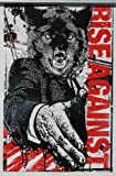 """RISE AGAINST """"WOLF"""" POSTER 17x11"""