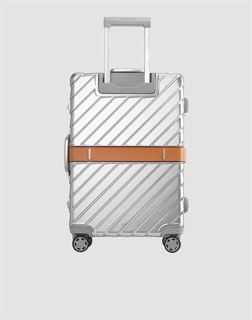WZC Maleta 20/24/29 pulgadas Tamaño Pc Marco de aluminio Equipaje rodante Super Moda Alta calidad, lujo,No1,20 '