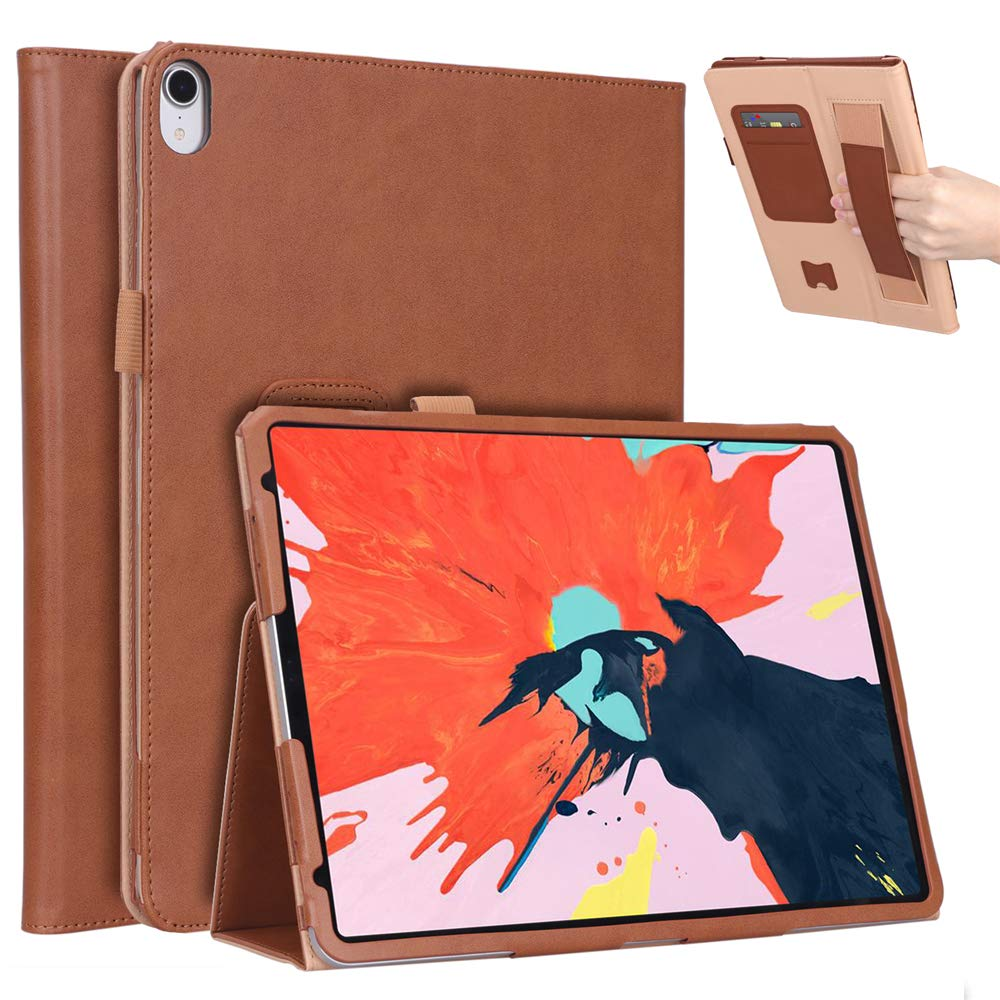 2018新発 BasicStock ブラウン Pro iPad Pro 11インチ 2018ケース プレミアムPUレザーケース フリップスタンド/フル保護/滑り止め BasicStock バンパーバックカバー iPad Pro 11インチ 2018年用 ブラウン ブラウン 6557-61-811 ブラウン B07L99N7S7, クマモトシ:e0221eb2 --- a0267596.xsph.ru