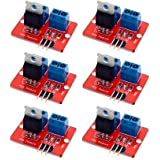 Onyehn 0-24V Top Mosfet Button IRF520 MOS Driver Module For Arduino MCU ARM Raspberry pi 6 Pack