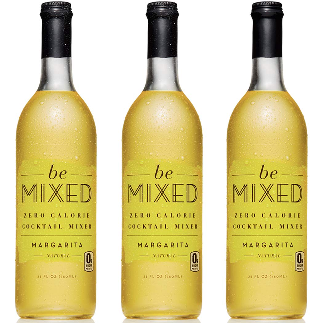 Zero Calorie Margarita Cocktail Mixer by Be Mixed | Low Carb, Keto Friendly, Sugar Free and Gluten Free Drink Mix | 25 ounce bottle, 3 pack by Be Mixed