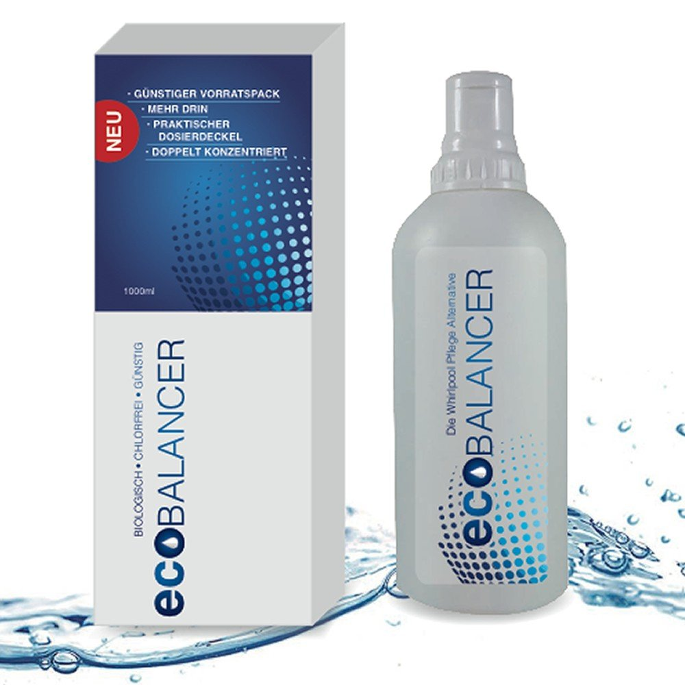 Chlorine Free Water Treatment, Organic Whirlpool Water Cleaner Eco Balancer ecoBALANCER