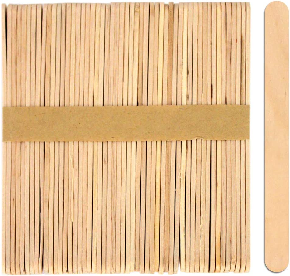 80 Pack Wooden Lolly Sticks