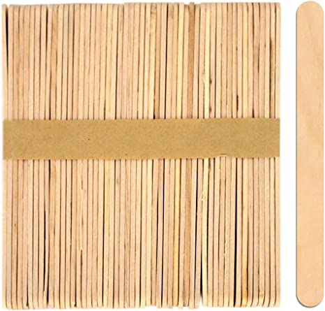 Pack of 1,000 Natural Wood Craft Sticks