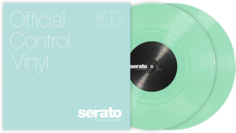 leuchtet im Dunkeln Serato Control Vinyl 25,4 cm 2 St/ück Standardfarben