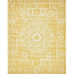Unique Loom Tradition Collection Classic Southwestern Yellow Area Rug (8' x 10')