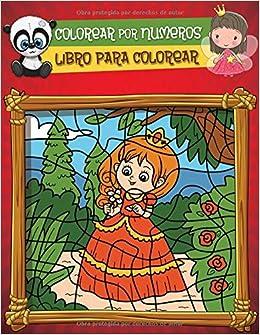 Amazoncom Colorear Por Numeros Libro De Actividades Para Colorear