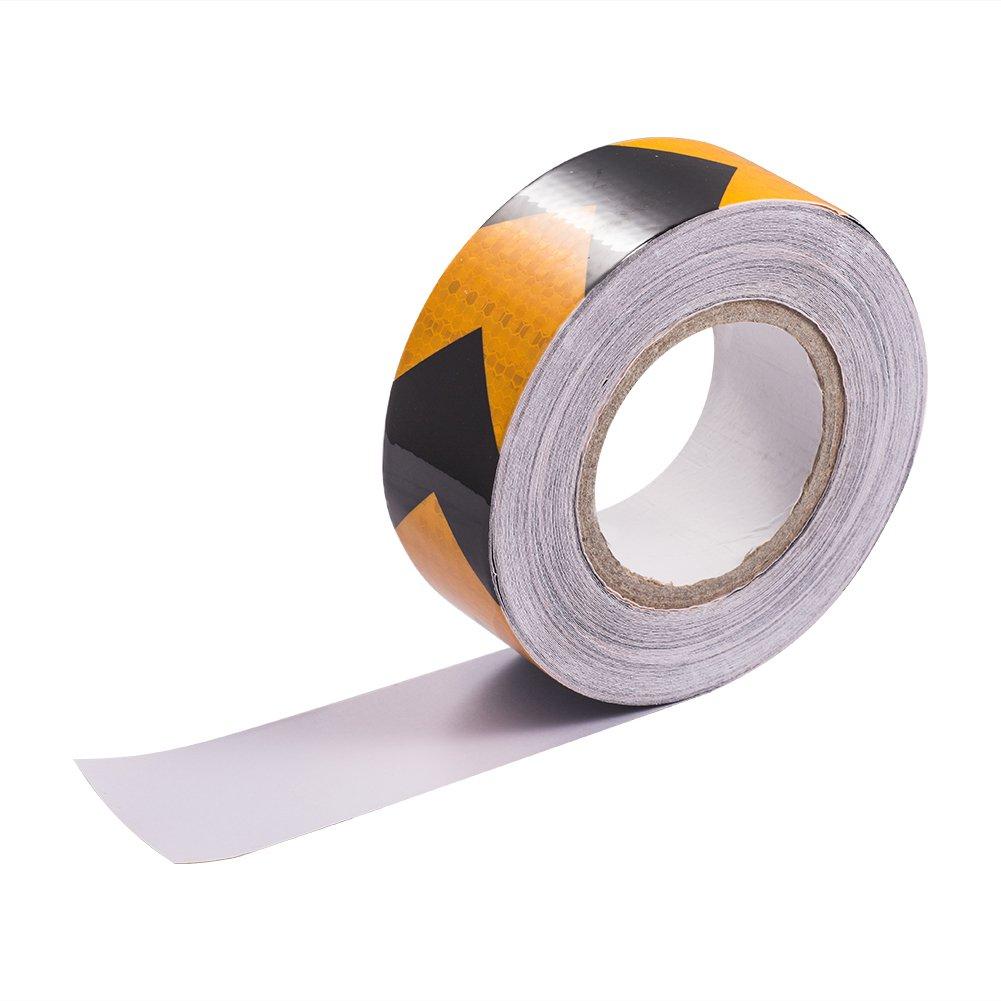 反射テープレッドホワイトドットc2 Reflectorテープ – 反射安全ステッカー防水車用トレーラートラック車オートバイ自転車 RED/WHITE 2