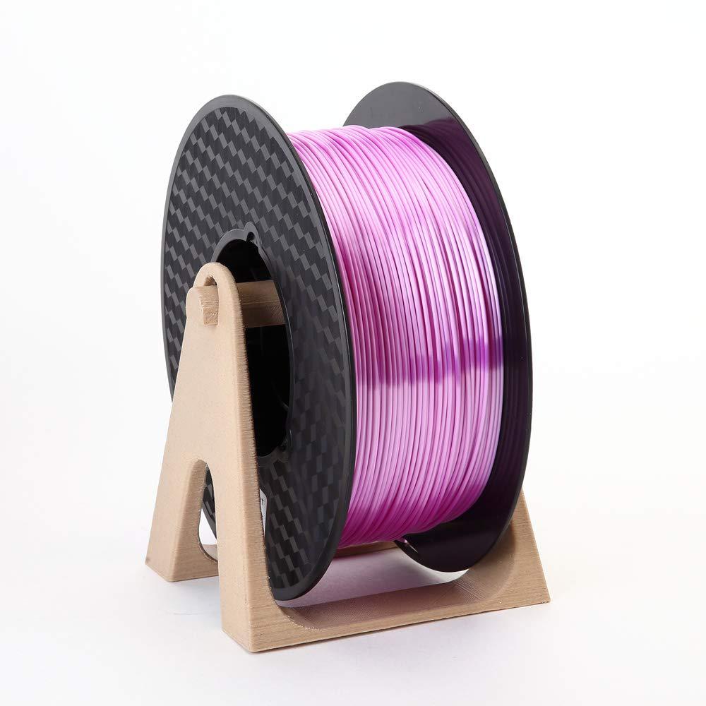 Filamento de impresora 3D PLA 1,75 mm, color lila sedoso y claro ...