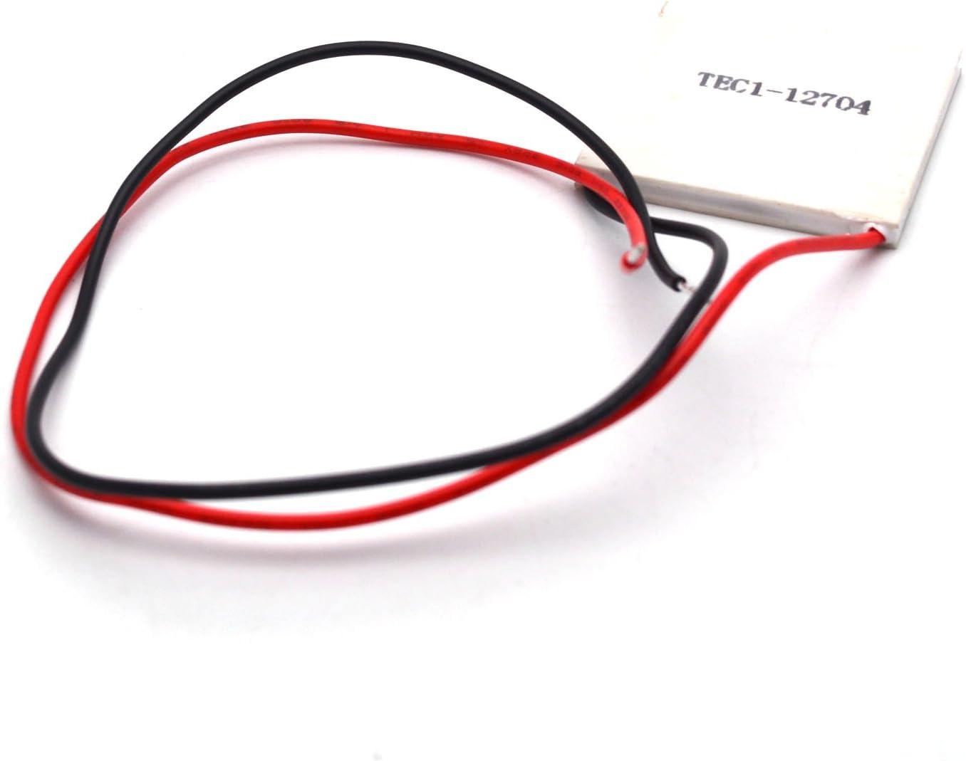 Antrader TEC1-12704 12V 36W Thermoelectric Peltier Cooler Heatsink Cooling Plate Module