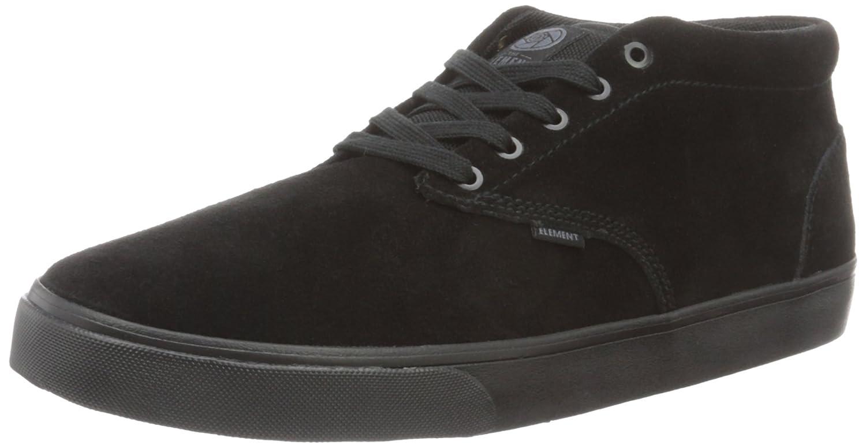 Element Herren Preston Sneakers Low-Top  46 EU|Schwarz (6915 Black Black)