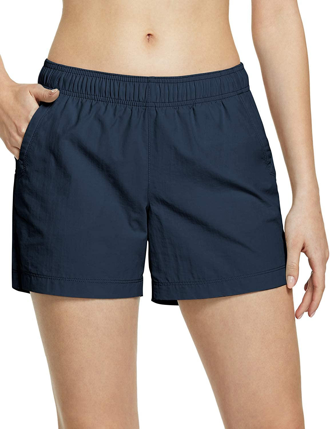 CQR Women's Hiking Shorts, Quick Dry Lightweight Travel Shorts, UPF 50+ UV/SPF Stretch Camping Shorts, Outdoor Apparel : Clothing