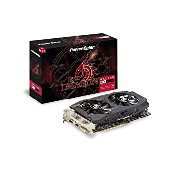 Powercolor Radeon RX 590 Red Dragon Tarjeta gráfica: Amazon ...