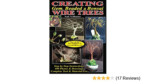 Creating Gem Beaded Bonsai Wire Trees Step By Step Instructions