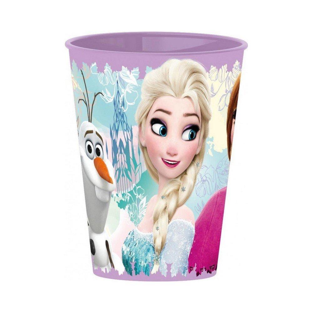 GUIZMAX Gobelet La Reine des Neiges Plastique Frozen Javo