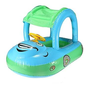 Inflatable Baby Float Seat Boat Tube Ring Car Sun Shade Swim Swimming Pool Water  sc 1 st  Amazon.com & Amazon.com: Inflatable Baby Float Seat Boat Tube Ring Car Sun ...