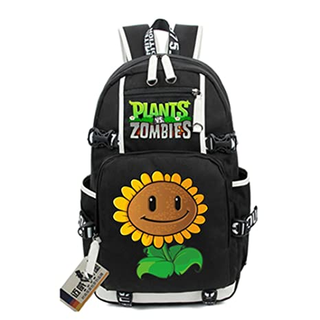 amazon com siawasey cute plants zombie hot game bookbag backpack rh amazon com