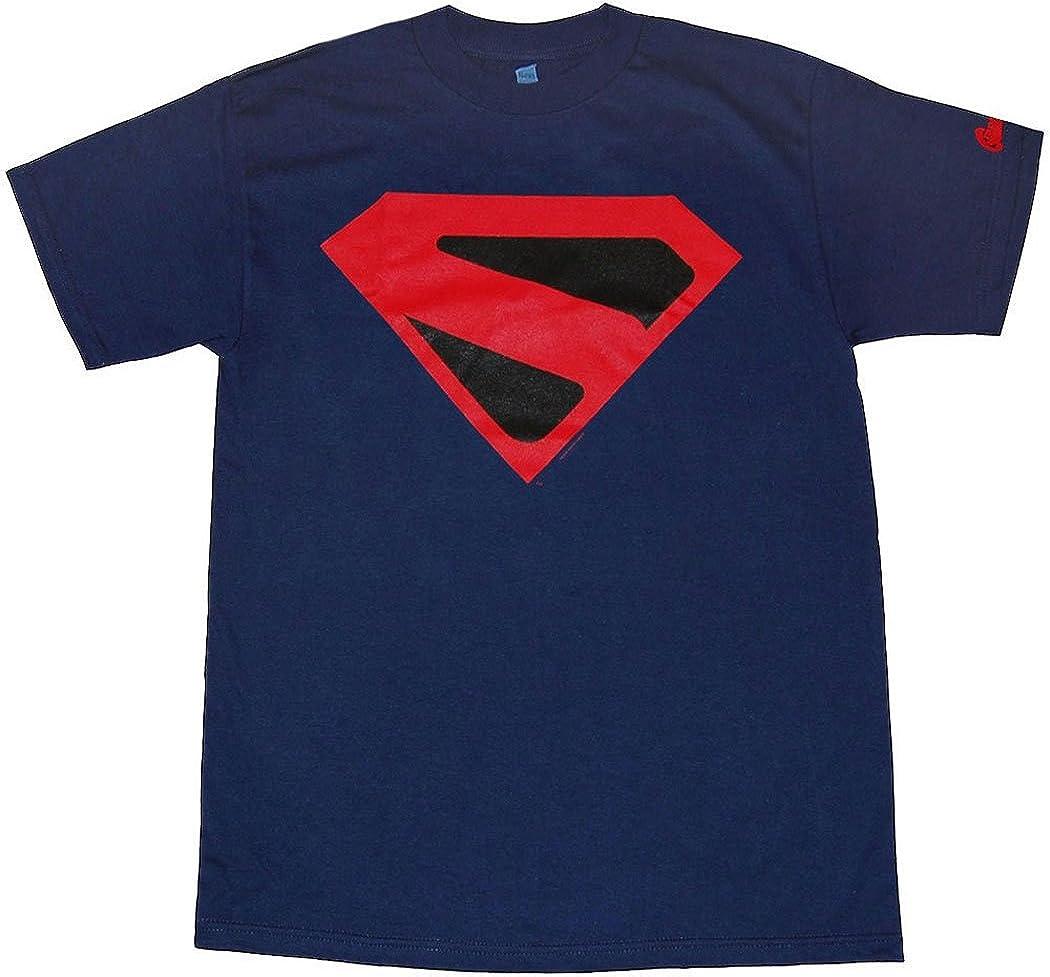 Superman Kingdom Come Símbolo de la camiseta-azul XXXLarge: Amazon.es: Ropa y accesorios