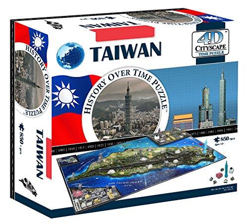 4D Cityscape 4D Taiwan Puzzle ()