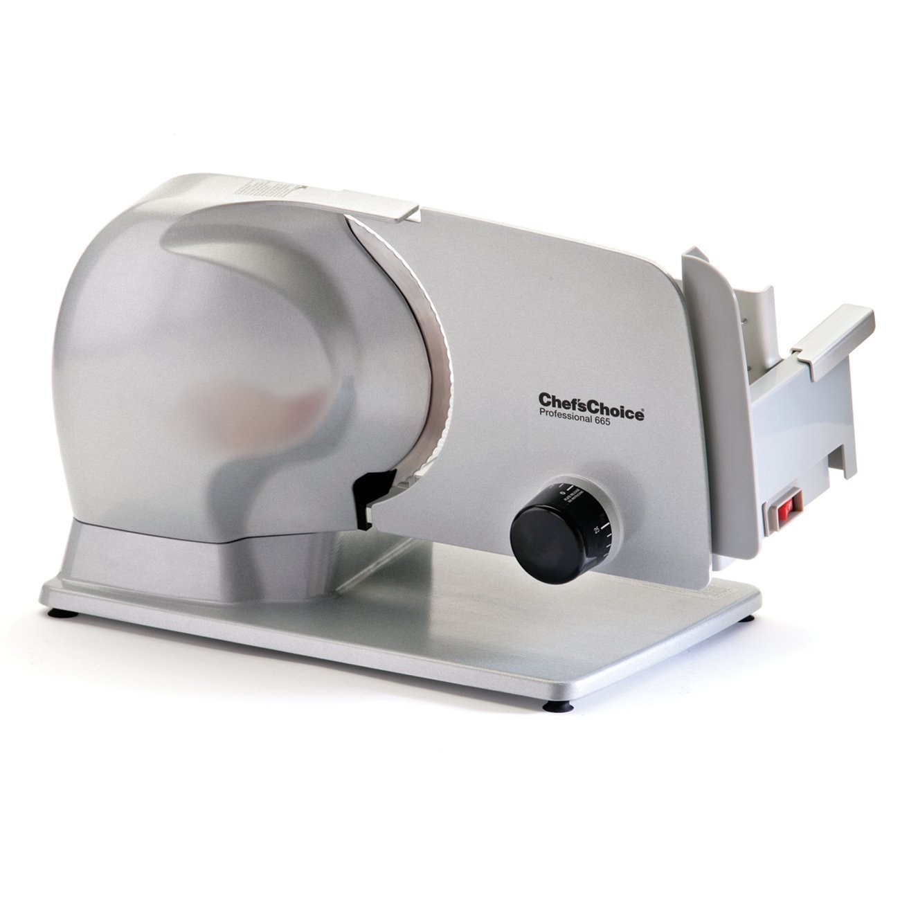 Chef'sChoice 665 Professional Electric Food Slicer, Gray Chef's Choice 6650000