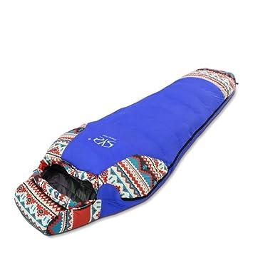 DHWJ Saco de Dormir al Aire Libre,Saco de Dormir Sobre Estilo Espesamiento Cálido Saco de Dormir Adultos Ultralight Adulto Saco de Dormir-B: Amazon.es: ...