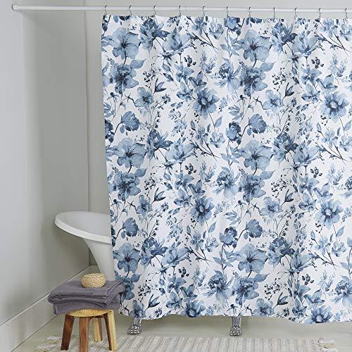 Home Dynamix Nicole Miller Wild Flower 100% Cotton Shower Curtain, 72