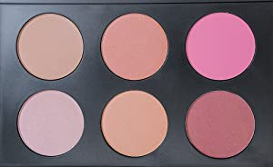 R Noble Blush & Bronzer & Highlighting Kit, Blush Palette + 6 Color, Contour Palette + Powder Blush + Corrective Powder + Makeup