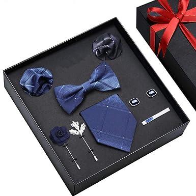 Traje de corbata de lazo para hombre vestido de caja de regalo ...