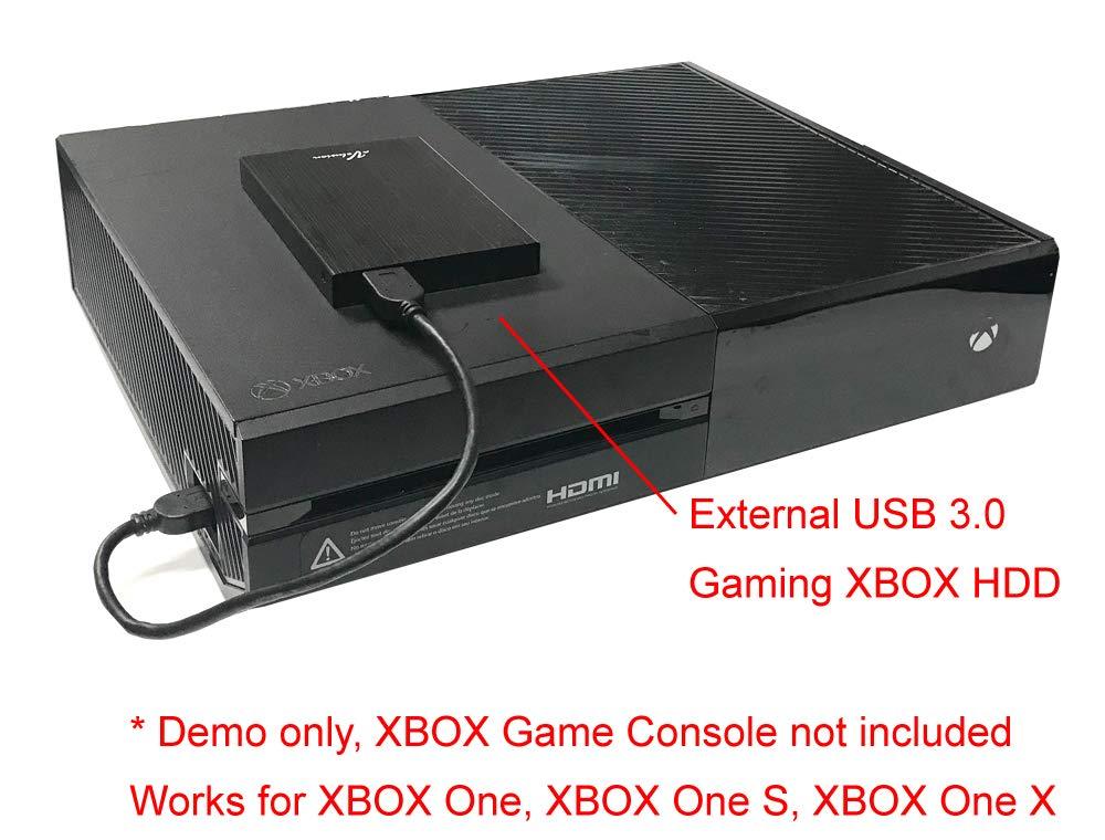 Avolusion HD250U3 1TB USB 3.0 Portable External Gaming Xbox One Hard Drive (Xbox Pre-Formatted) - Black w/2 Year Warranty by Avolusion (Image #4)