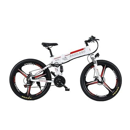 GTYW, Eléctrico, Plegable, Bicicleta, Montaña, Bicicleta, Ciclomotor Adulto, Plegable